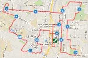 RNR Raleigh 2015 Map
